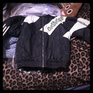 Vintage Adidas winter jacket,pants,hat from 80sera